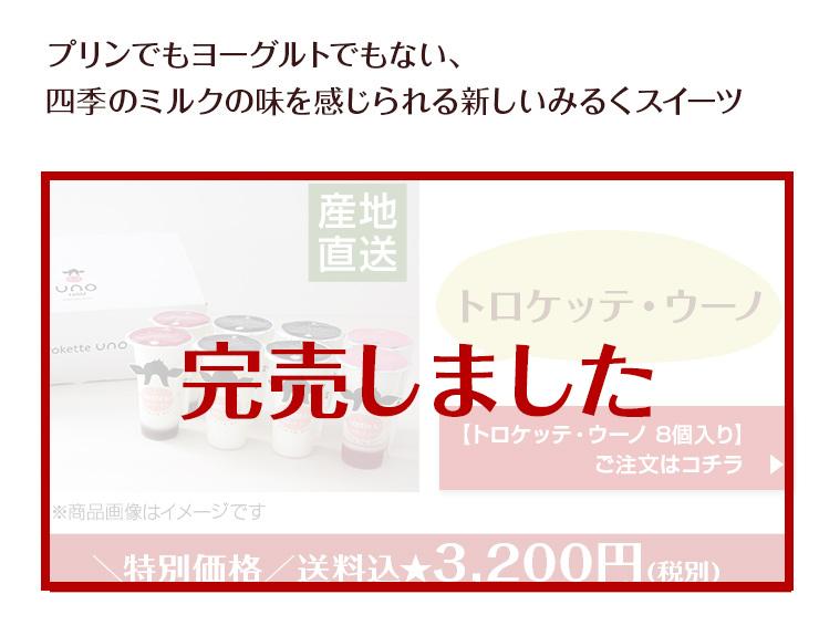 トロケッテ・ウーノ8個入り特別セット
