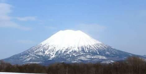 蝦夷富士ともいわれる羊蹄山
