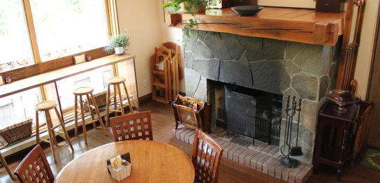ハムやベーコンを使ったランチが楽しめるファーマーズカフェ