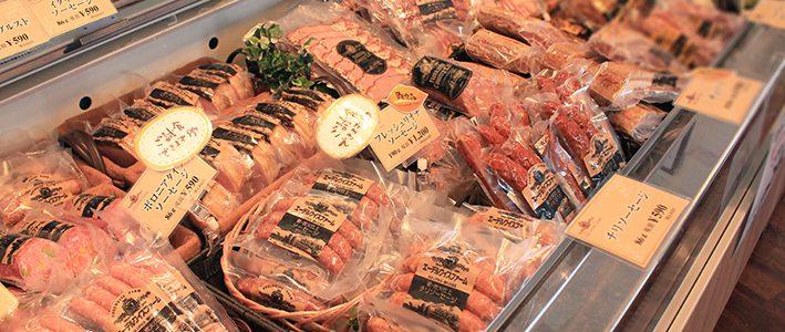 北海道物産展に美味しいハムやベーコンをお持ちいたします!