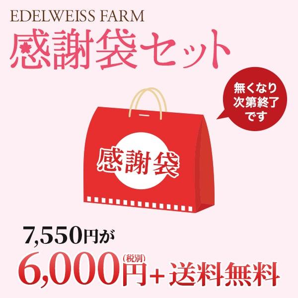 感謝袋セット。送料無料6,000円(税別)