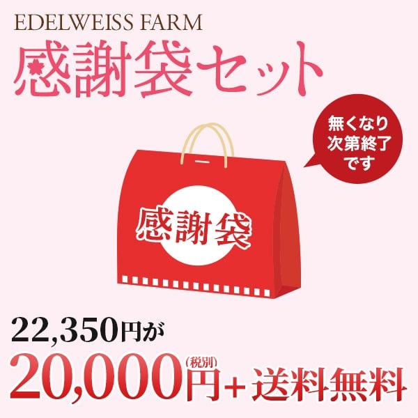 感謝袋セット。送料無料20,000円(税別)
