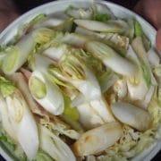 ベーコンと白菜のミルフィーユ